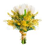 bouquet-tulipani-mimosa