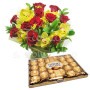 bouquet-rose-orchidee-ferrero-rocher