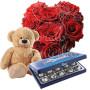 piccolo-cuore-di-rose-rosse-baci-perugina-orsacchiotto