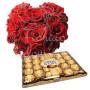 piccolo-cuore-di-rose-rosse-ferrero-rocher